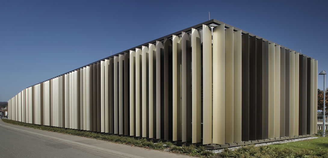 metalllamellen bibliothek du lingen colt bewegliche und starre metalllamelen aus aluminium. Black Bedroom Furniture Sets. Home Design Ideas